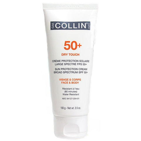 G.M. COLLIN 50+ Dry Touch Sun Protection Cream Broad Spectrum SPF 50+ (Face & Body) 100ml