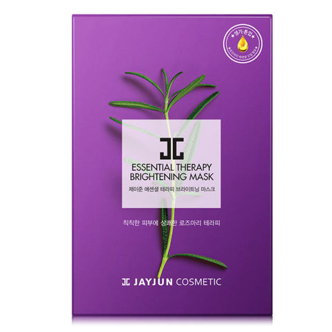 JAYJUN Essential Therapy Brightening Mask (rosemary Oil) 10pcs