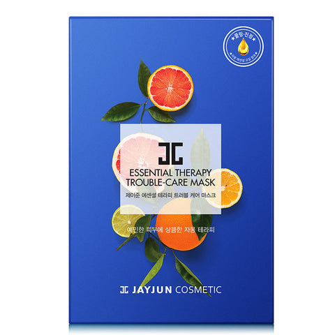 JAYJUN Essential Therapy Trouble Care Mask (Grapefruit oil) 10pcs
