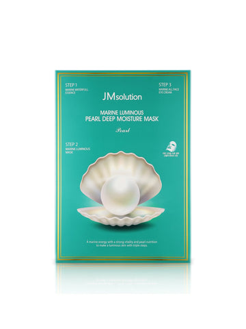 JM SOLUTION Marine Luminous Pearl Deep Moisture Mask Pearl 10pcs