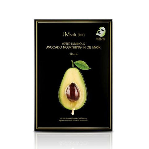 JM SOLUTION Water Luminous Avocado Nourishing In Oil Mask 28ml x 10pcs