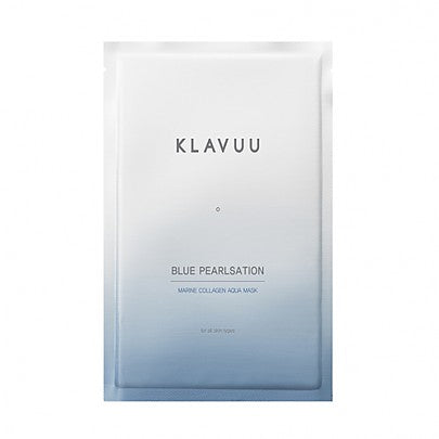 KLAVUU Blue Pearlsation Marine Collagen Aqua Mask - 1pc