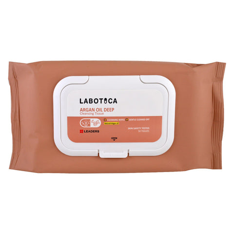 LEADERS Labotica Argan Oil Deep Cleansing Tissue 50pcs