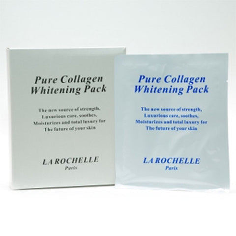 LA ROCHELLE Pure Collagen Whitening Mask 40ml x 1 Pc