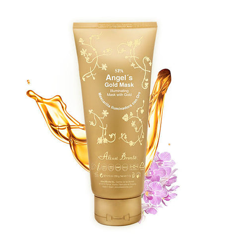 ALISSI BRONTE ANGELS GOLD MASK Illuminating Mask with Gold 200g