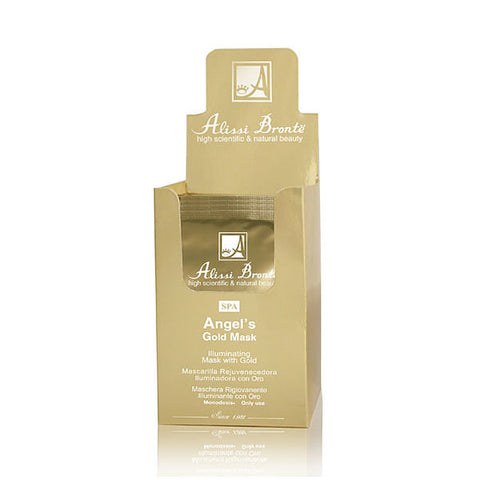 ALISSI BRONTE ANGELS GOLD MASK Illuminating Mask with Gold (20 Monodose x 5ml)