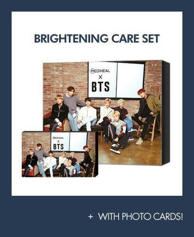 MEDIHEAL X BTS Sepcial Collaboration Box-Brightening & Revitalizing Care