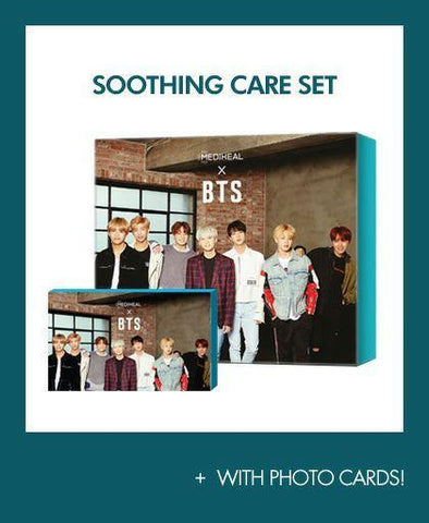 MEDIHEAL X BTS Special Collaboration Box-Skin Soothing Care