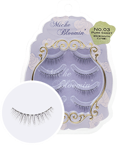 MICHE BLOOMIN' False Eyelashes NO.03 Pure Sweet