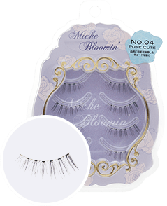 MICHE BLOOMIN' False Eyelashes NO.04 Pure Cute