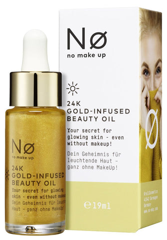 NO MAKE UP Ø GLOW TODAY 24K Gold Infused Beauty Oil 19ml