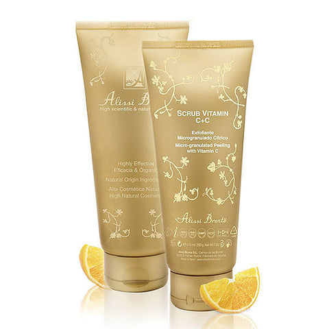 ALISSI BRONTE SCRUB VITAMIN C+C Micro-granulated Peeling with Vitamin C 210ml