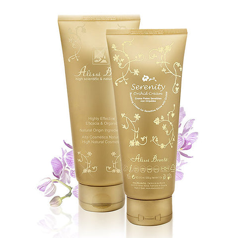 ALISSI BRONTE SERENITY ORCHID CREAM Soothing with Orchid 210ml