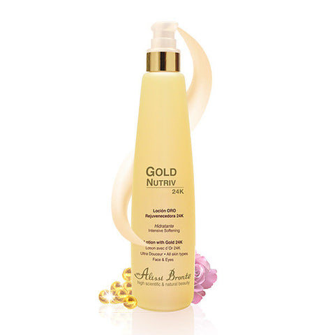 ALISSI BRONTE GOLD NUTRIV Rejuvenating Lotion with Gold 24K 200ml
