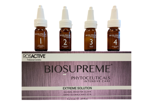 ROSACTIVE BIOSUPREME Extreme Solution Booster Elixir 4x12ml