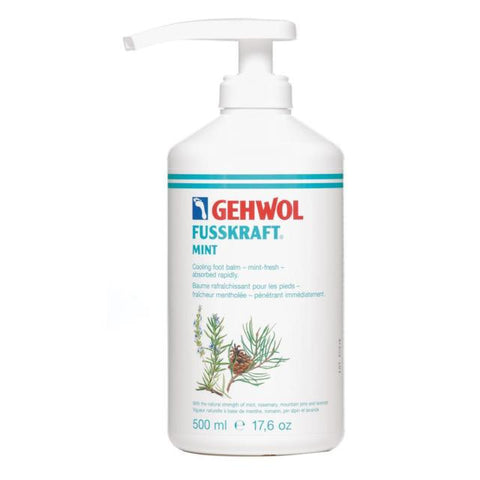 GEHWOL FUSSKRAFT MINT with pump 500ml