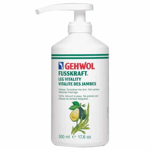 GEHWOL FUSSRKAFT LEG VITALITY with pump 500ml