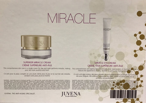 JUVENA MIRACLE SET - Superior Mracle Cream 75ml + Miracle Eye Cream 20ml