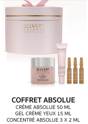 SELVERT THERMAL Holiday Set - Regeneration Absolue