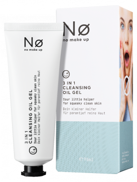 NO MAKE UP Ø FRESH TODAY 3 in 1 Cleansing Oil Gel 75ml