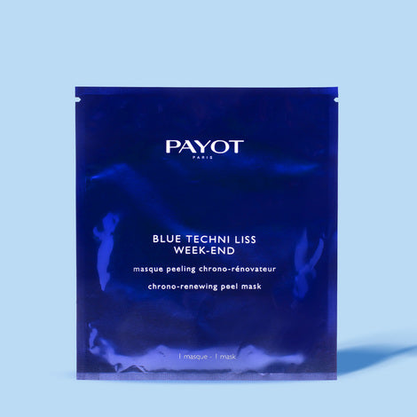 PAYOT Blue Techni Liss Week-End Chrono-Renewing Peel Mask 25gx10