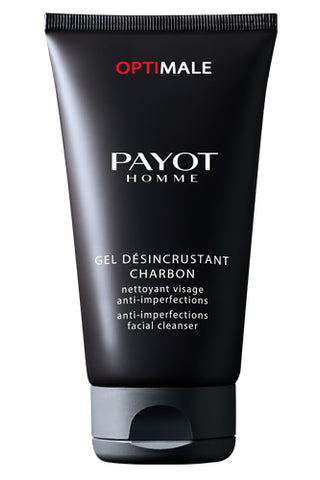 PAYOT GEL DÉSINCRUSTANT CHARBON Anti-imperfections facial cleanser 150ml