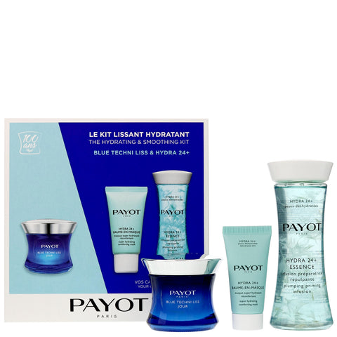 PAYOT Blue Techni Liss and Hydra 24+  Kit