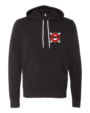 STACK'd Apparel: X Bar Logo Black Hoodie