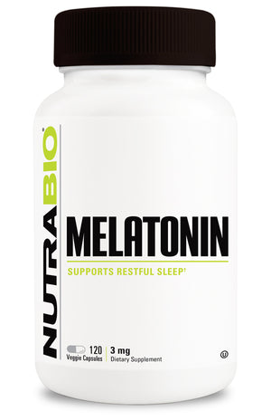 NutraBio: Melatonin (3mg)
