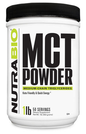 NutraBio: MCT Oil Powder (1lb.)