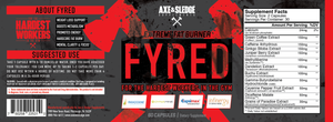 Axe&Sledge: FYRED