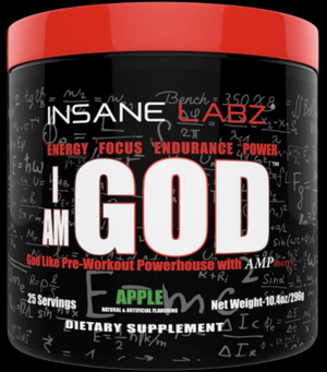 Insane Labz: I AM GOD