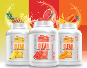 NutraBio: Clear Whey Protein Isolate