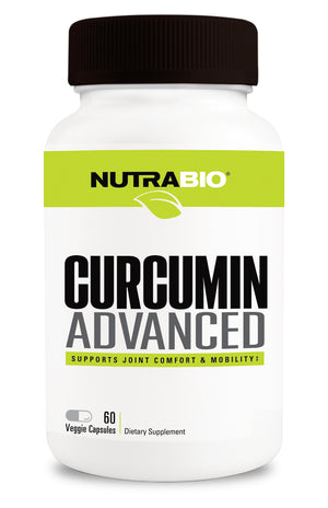 NutraBio: Curcumin Advanced - 60 capsules