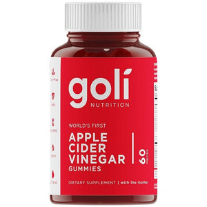 Goli Nutrition: Apple Cider Vinegar ACV Gummies (60 count)
