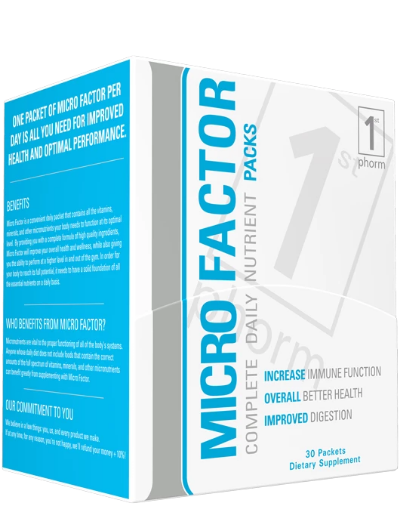 1st Phorm MicroFactor Complete Daily Nutrient Pack