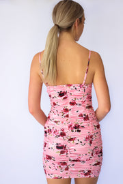 Imagine It Bodycon Floral Dress