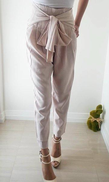 Raven Pants in Taupe