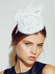 Accessories - Everly Lace Fascinator