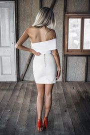 Bottom - Dusty Road Skirt White
