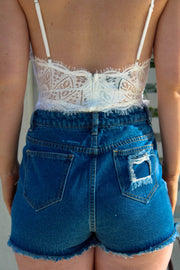 Bottoms - Donatella Denim Short