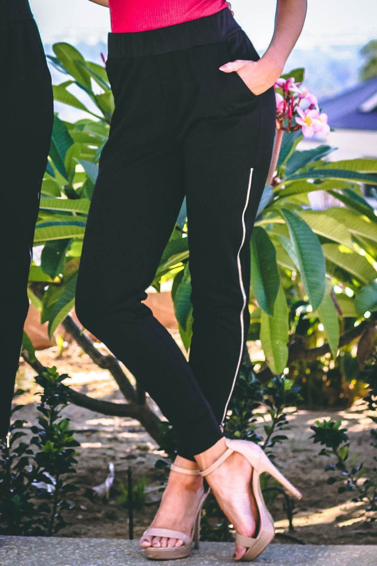 Bottoms - Esther Pants In Black