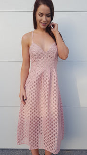 Dress - Abigail Dress In Pink