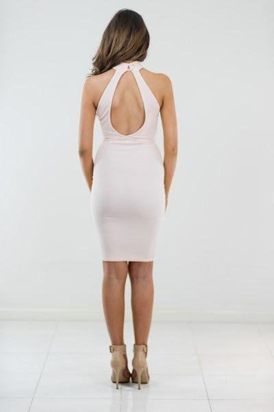 Dress - All Nighter In Peach