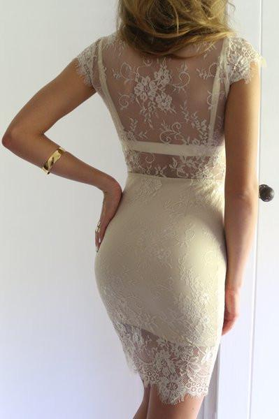 Dress - Bella Nude Dress