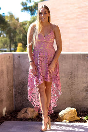 Dress - Electra Cross Back In Mauve