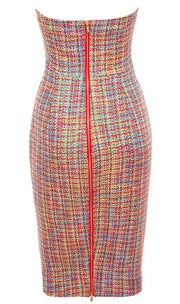 Dress - Forever After Multi Colour Dress
