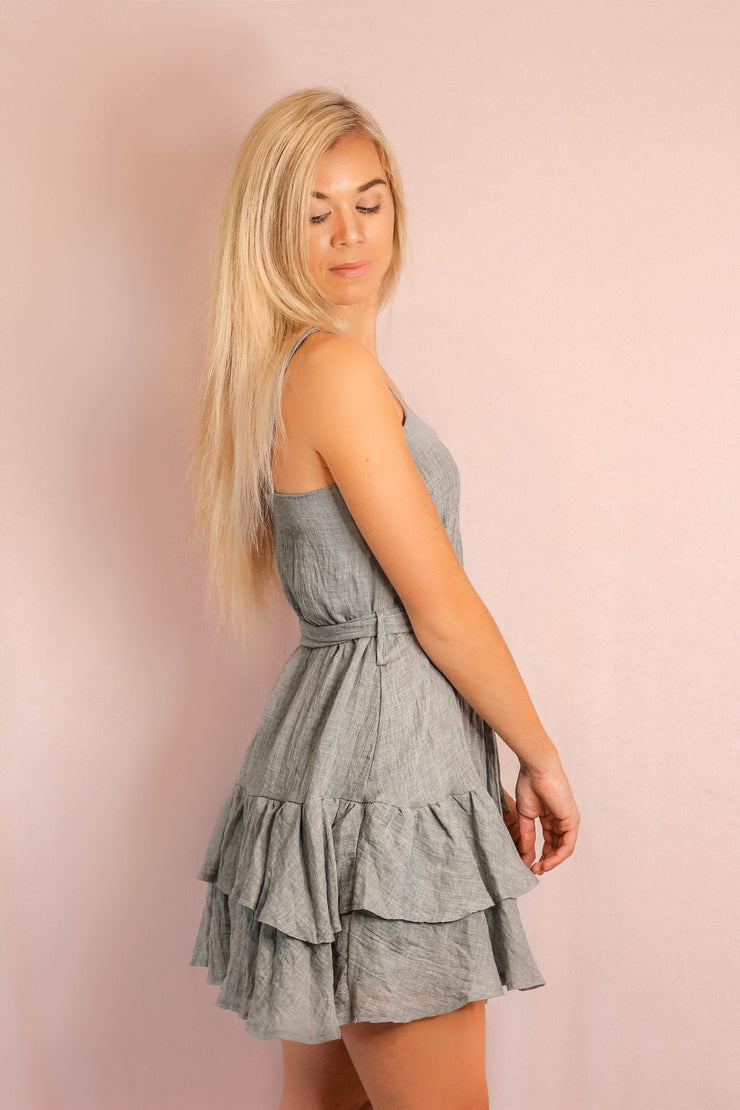 Dress - In The Summer Dress In Grey