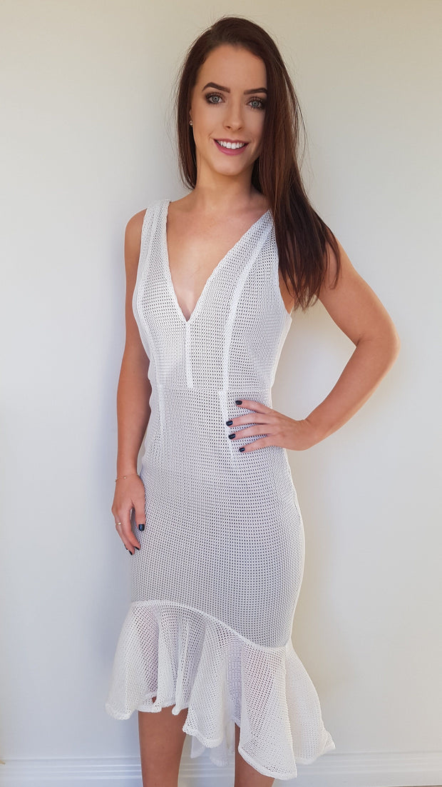 Dress - Marielle Dress In White