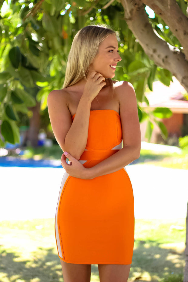 Dress - Paradise Dress In Mango